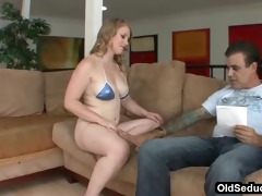 step-dad seduced by legal age teenager tits