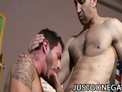 steven richards - hawt dilf topping off tristan