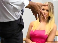 natural tits surprise cum in face hole