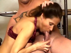 hawt wife jerking young guy