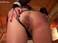 fantastic pierced twat milf sucking part3