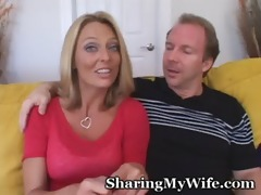 happy couple looks for young dick to please wife