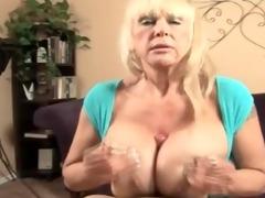 bawdy talking big titty granny fucking