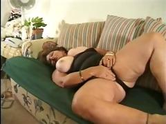 big beautiful woman fucked on the ottoman