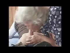 busty hairy granny with young bvr