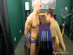 sweet dad and sexually excited son fuck with adam
