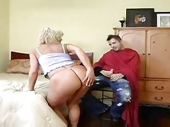 hawt blonde cougar bangs younger after haircut