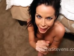 tabitha stevens perfect oral-sex and anal sex!