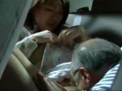 older oriental wants juvenile wet crack on his