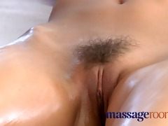 massage rooms aged lesbian has a filthy encounter