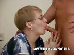 mature wife convinces juvenile chap to fuck