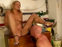 girl fucking and peeing on grandad