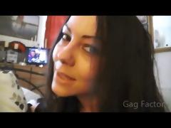 satans niece. gag factor floozy
