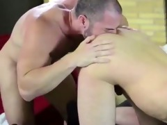 dad guy anal action in dark socks