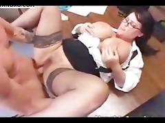 bbw secretary acquire a good ramming