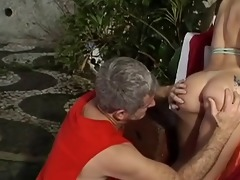 old jake fucking a brazilian cutie
