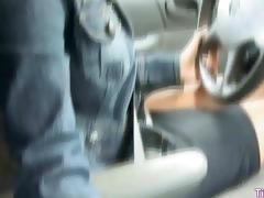 blowjob in dad car