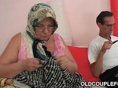 old chap nails grandma and teeny