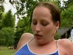 beauty on picnic acquire assfucked