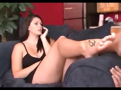 young princess use old mmf feet slave