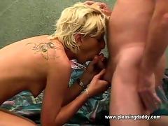 juvenile excited slut sucking old mans cock