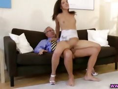 mature lad fucking hawt younger stocking legal