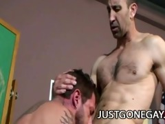 steven richards - hot dilf topping off tristan