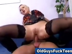 old chaps fuck sexy younger babe