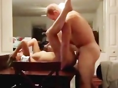 student fucks hot golden-haired waitress