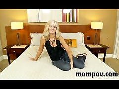 horny blonde housewife enjoys my ramrod