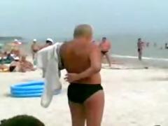 do not gulp on the beach