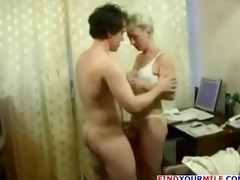older older cougar suck large knob