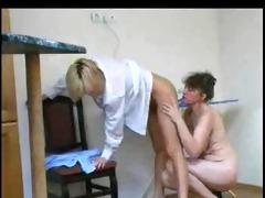 mature lesbian fucks younger gal