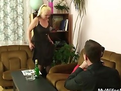 her old bushy cunt riding my cock