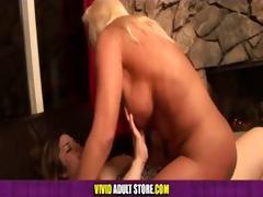 marley mason fucks cougar kayla with a strap-on