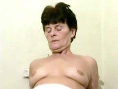 mature granny landlady wakes her youthful lodger