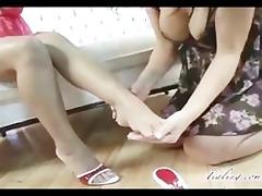 tia ling and jasmine foot fetish