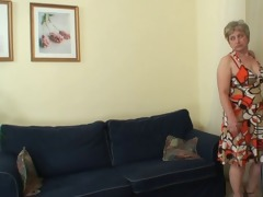 hot lad bangs lonely granny