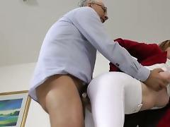 amateur female jockey riding cock