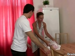 massage leads to oral pleasure and knob riding
