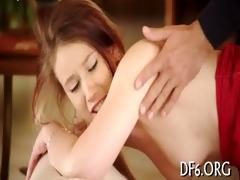 virgin explores rod & cum