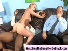 interracial black chap copulates white girl