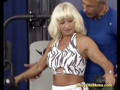 muscle mommy sex