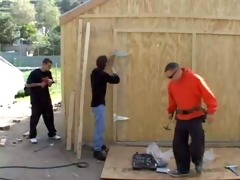 contractors gangbang the old homeowner mc169