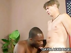 hot dilf mark galftone analized by large black