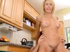 thin mamma with hairy pubis, petite love melons