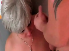 astonishing old whore missionary fucking with
