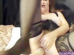 hairy milf ashley gets squirt with huge sex-toy