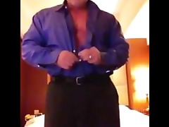 suited dad strips
