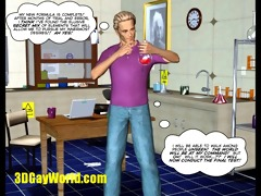 invisible cock homosexual sci fi 3d cartoon